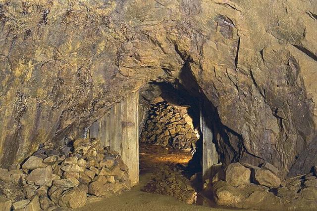 A portion of the mine. Author:Bengt A Lundberg / RiksantikvarieämbetetCC BY 2.5