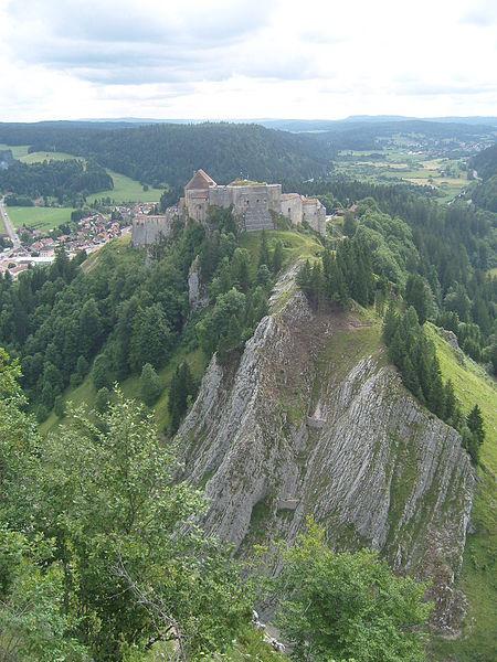Château de Joux. Author:Ordifana75CC BY-SA 3.0
