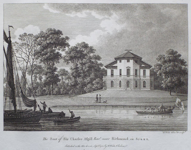 Engraving of the house dated 1781. Author:UnknownPublic Domain