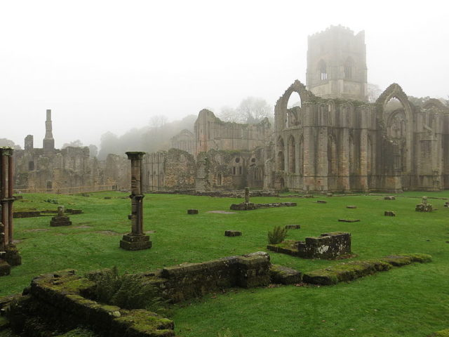 Fountains Abbey: these magnificent ruins were the filming location ...