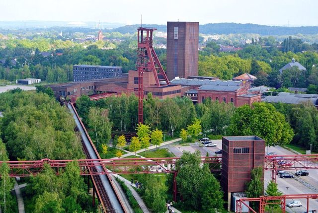 General view of the mining complex. Author:SpyrosdrakopoulosCC BY-SA 4.0