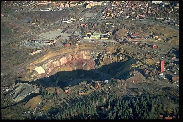 General view of the mine. Author:Jan Norrman / RiksantikvarieämbetetCC BY 2.5