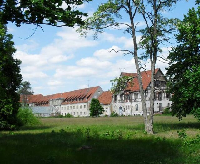 General view of the sanatorium. Author:Hyronimus299CC BY-SA 4.0