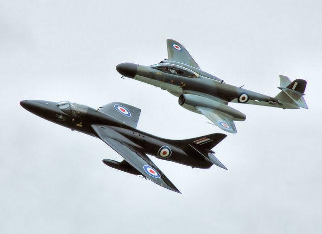 Hawker Hunter. Author:Adrian PingstonePublic Domain