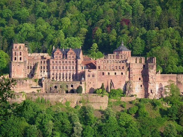 Heidelberg Castle. Author:Pumuckel42CC BY-SA 3.0