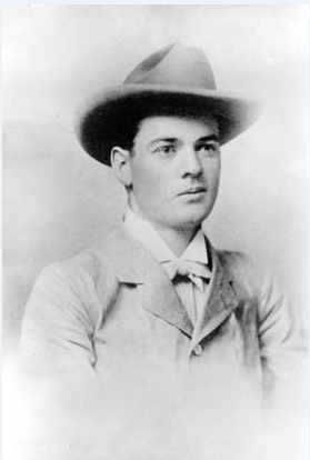 Herbert Hoover, aged 23; taken in Perth, 1898