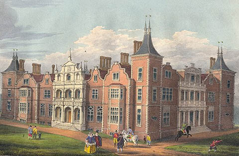 Historical illustrations of Houghton House by the Rev I. D. Parry (1827)
