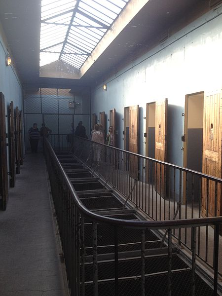 Inside one section of the prison. Author:Ced007CC BY-SA 3.0