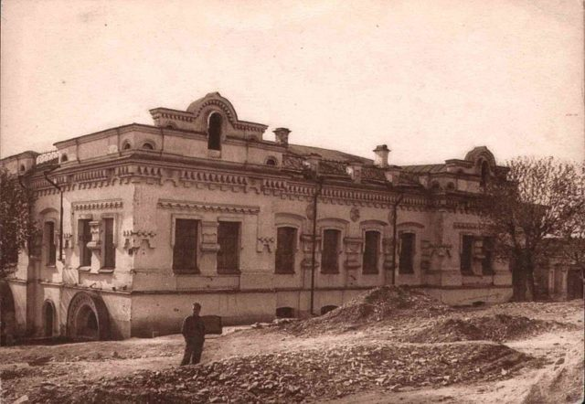 Ipatiev House photograph from 1928.