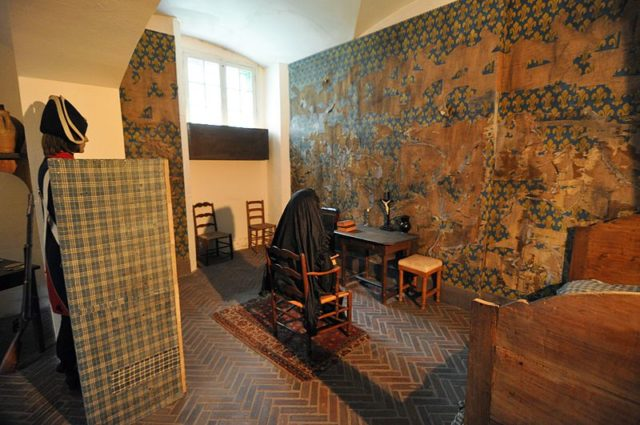 Marie Antoinette's Cell/ Author: André Lage Freitas – CC BY-SA 3.0