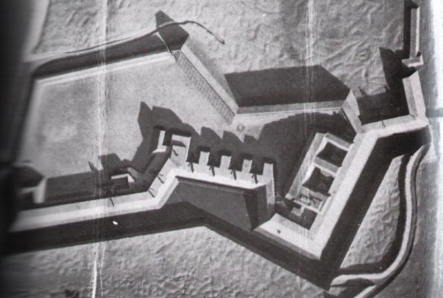 Model of Fort Wagner. National Archives