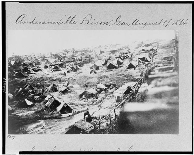 Old photo of Andersonville. Author:Bkwillwm