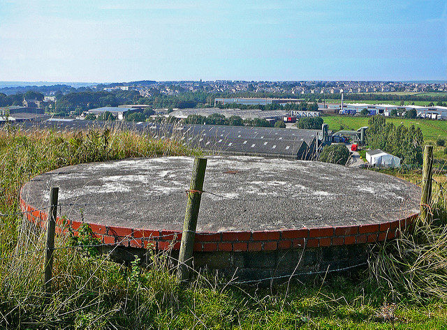 On top of one of the shafts. Author:Tim GreenCC BY 2.0