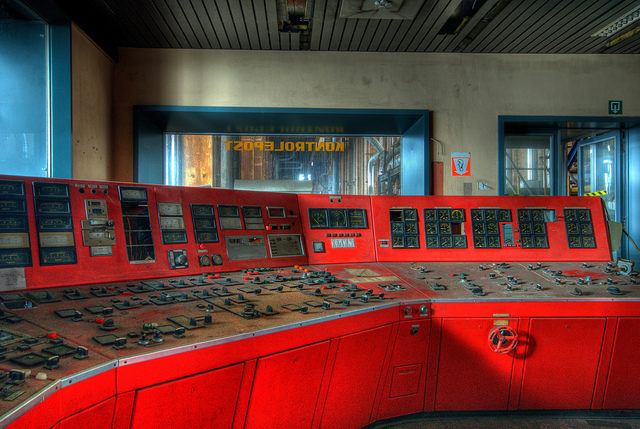 One of the control panels. Author:Jelle de VriesCC BY-ND 2.0