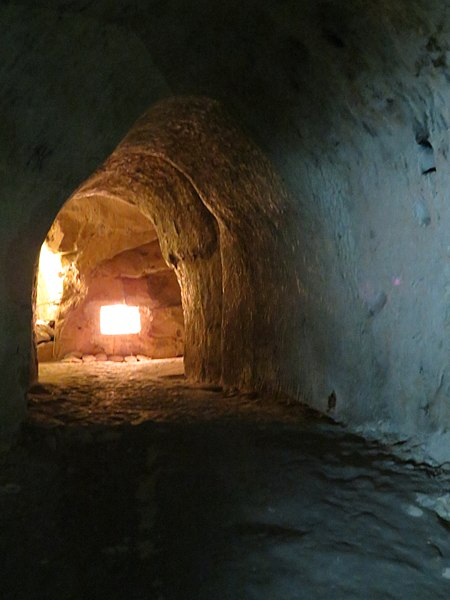 Part of a tunnel open to the general public. Author:BazieCC BY-SA 3.0 pl
