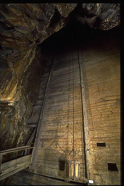 Part of the inside of the mine. Author:Bengt A Lundberg / RiksantikvarieämbetetCC BY 2.5