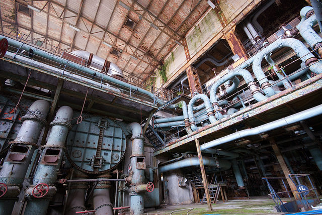 Part of the inside of the power plant. Author:Jelle de VriesCC BY-ND 2.0