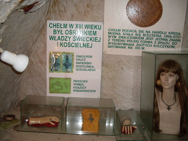 Part of the museum exhibit. Author:FotonewsCC BY-SA 3.0 pl