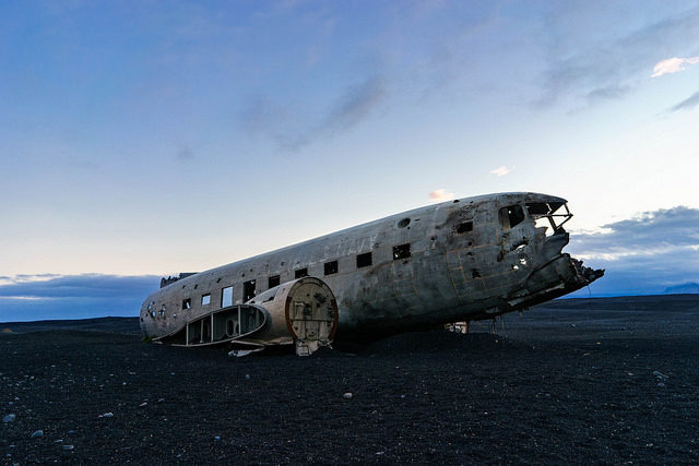 The crash of the American DC-3 plane. Author:Marco VerchCC BY 2.0