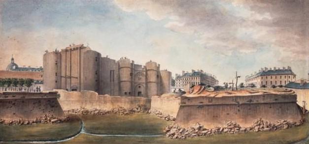 The demolition of the walls. Author: Anon – Bibliothèque nationale de FrancePublic Domain