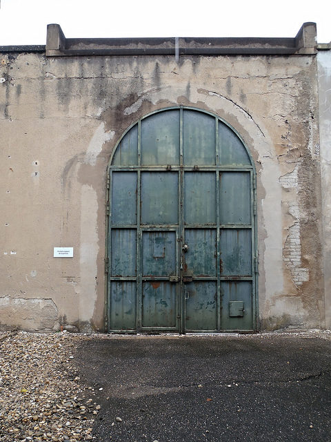 The door that was used by the Gestapo. Author:Jeanne MenjouletCC BY 2.0