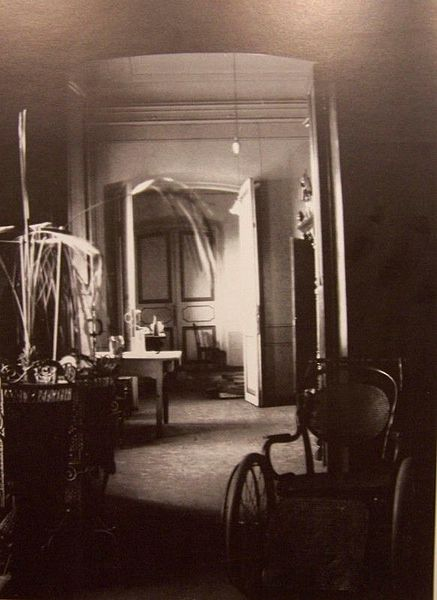 The interior of the Ipatiev house.