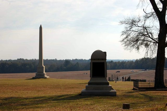 The monuments at Andersonville. Author:Bubba73CC BY-SA 3.0