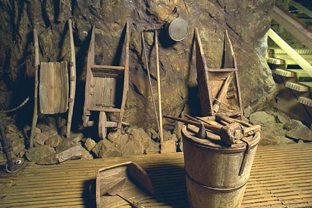 The old mining equipment. Author:Bengt A Lundberg / RiksantikvarieämbetetCC BY 2.5