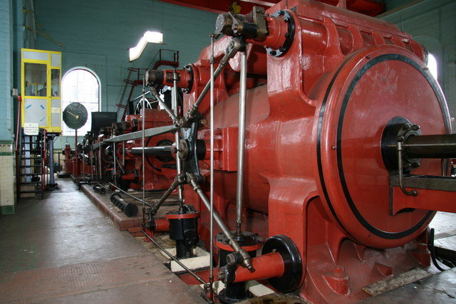 The winding engine/ Author:Chris Allen – CC BY-SA 2.0