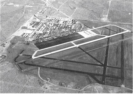 Aerial photo from 1943