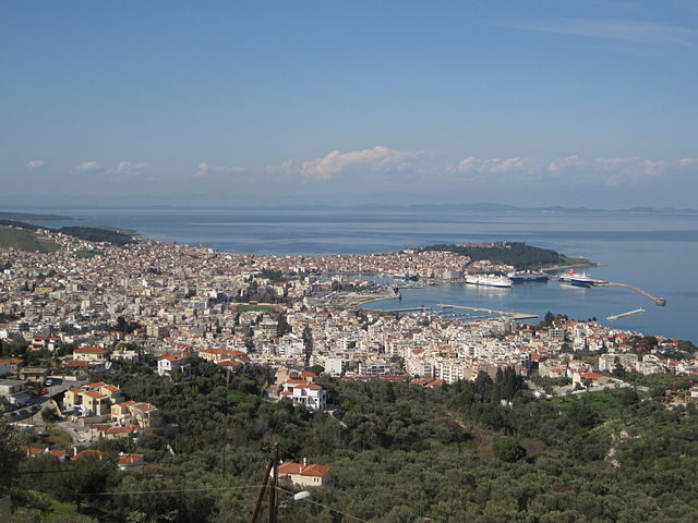 View of Mytilene from the south