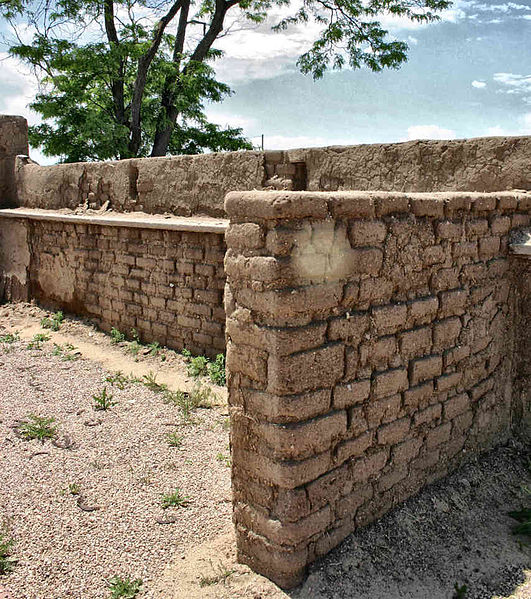Adobe-type brick. Author:Charles M. SauerCC BY-SA 3.0