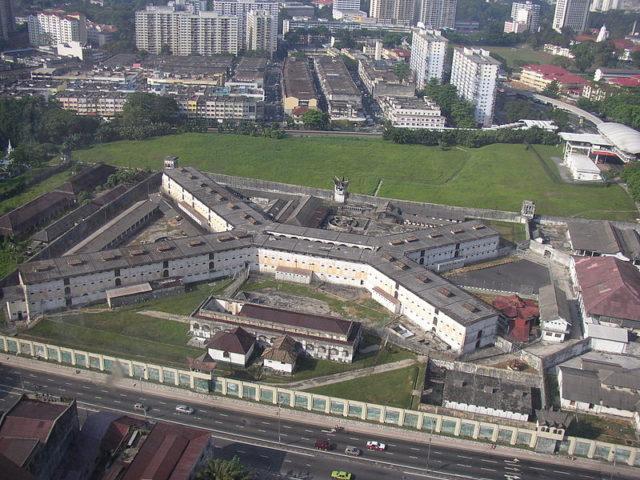 Bird-eye view of the prison/ Author:Joseph GanCC BY-SA 2.5