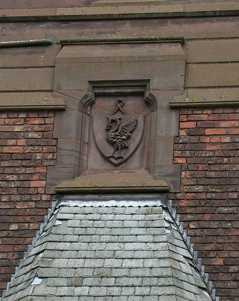 Close-up of a facade detail/ Author:PeterMLiverpoolLad5CC BY-SA 4.0