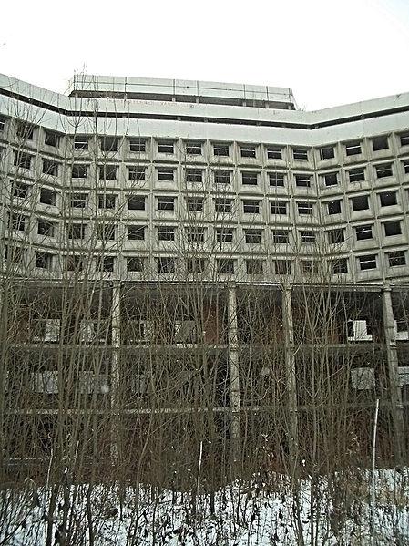 Close-up of the hospital/ Author:Vladislavus