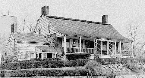 Dyckman House in 1934