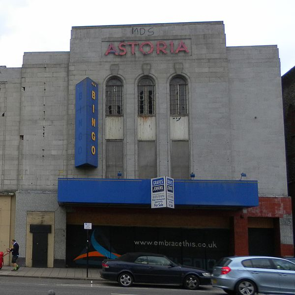 Front view of the Theater. Author:The Voice of Hassocks