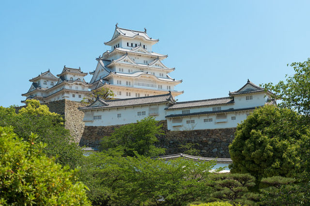 Himeji Castle/ Author:Niko KitsakisCC BY-SA 4.0