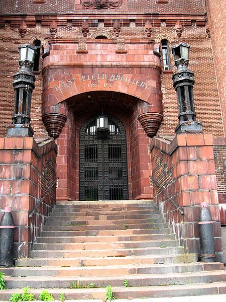 Main entrance. Author:Jim.henderson
