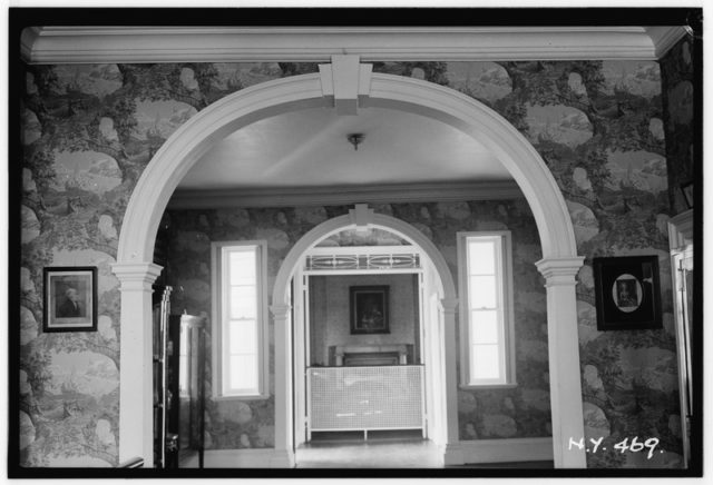 Old photo of the interior. Author:Arnold Moses,