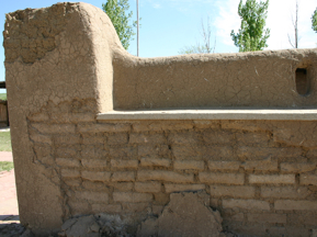 One of the remaining walls. Author:Charles M. SauerCC BY-SA 3.0