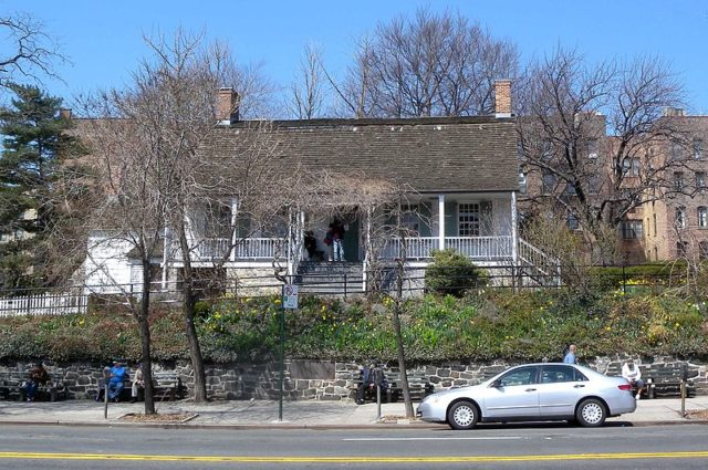 Photo of the house from across the street