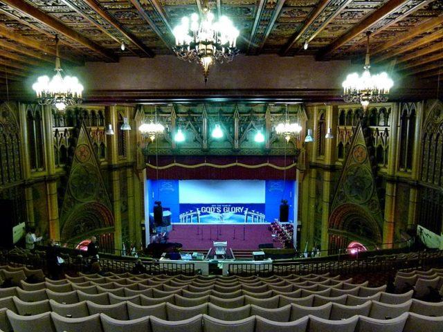 A portion of the Main hall. Author:Kleon3 – CC BY-SA 4.0