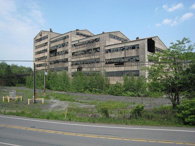 The abandoned breaker. Author:Doug LettermanCC BY 2.0