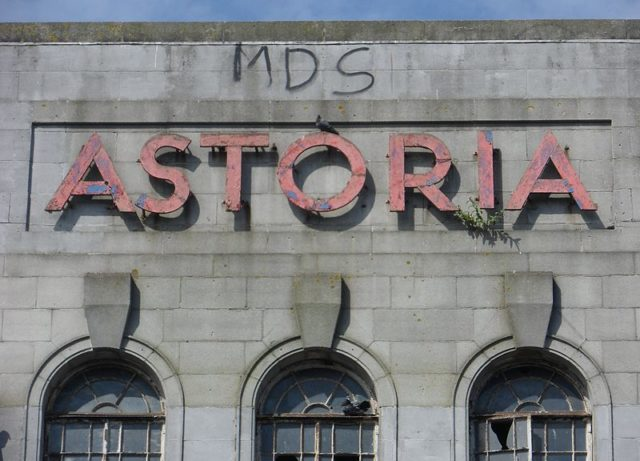 The Astoria sign. Author:The Voice of Hassocks