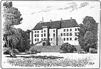 The castle in 1896. Author: Nico-dk