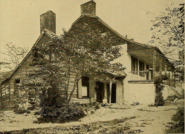 The house in 1914