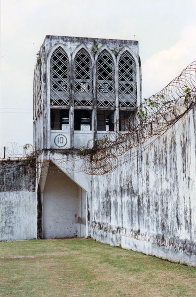 The interior of Pudu Prison/ Author:Jason7825CC BY 3.0