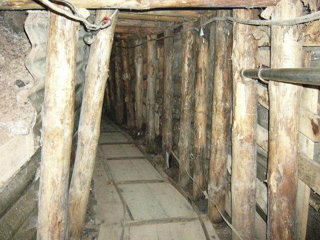The interior Sarajevo Tunnel. Author:Elias BizannesCC BY-SA 2.0