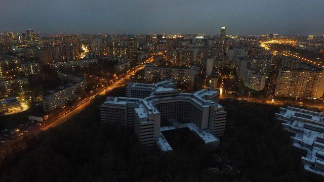 The vast abandoned hospital complex/ Author:Artem SvetlovCC BY 2.0